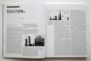 """""""La Potenza e'nulla senza controllo"""", in: Arch+, Legislating Architecture"""