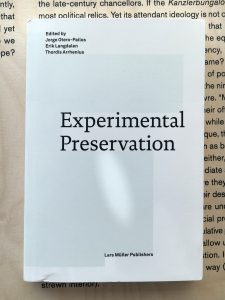 In: Experimental Preservation