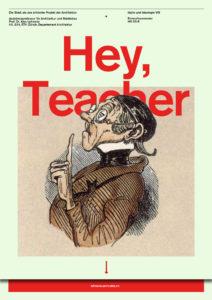 Studio HS 18: Hey, Teacher—Idylle und Ideologie VIII